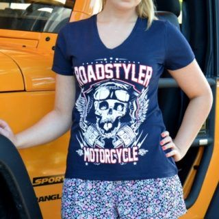 Lady's T-shirt – flying teeth