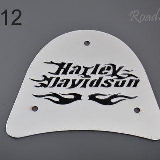 Blacha tylna do oparcia, duża – Harley BL-12