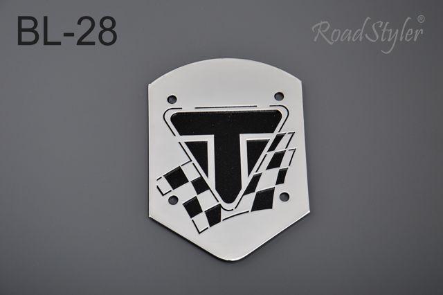 Small backrest back plate – Triumph BL-28