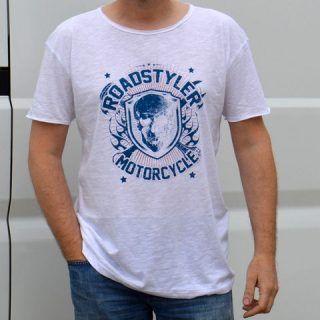 Men's T-shirt – blue moon WIDE