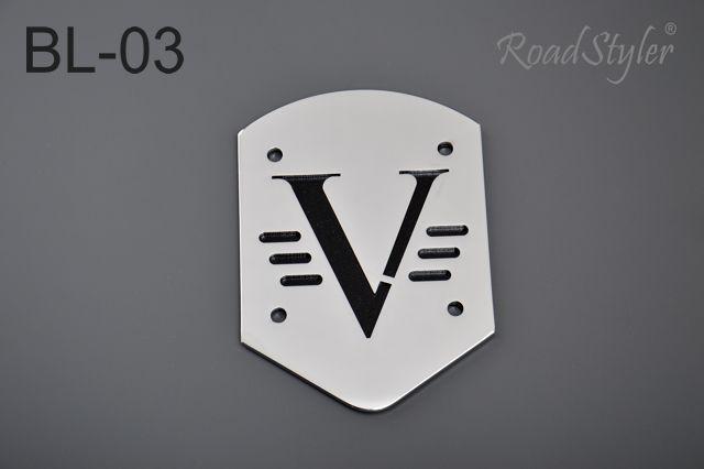Small backrest back plate – V, BL-03