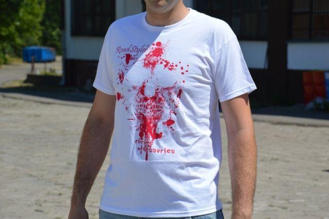 Koszulka męska – krwawy patriota