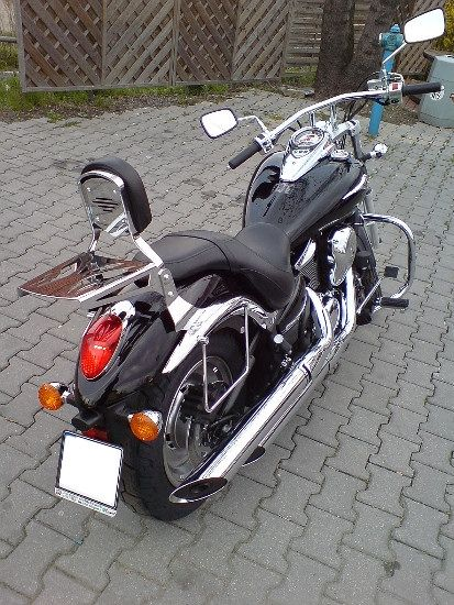 Front Engine Guards KAWASAKI VN900 Classic and Custom