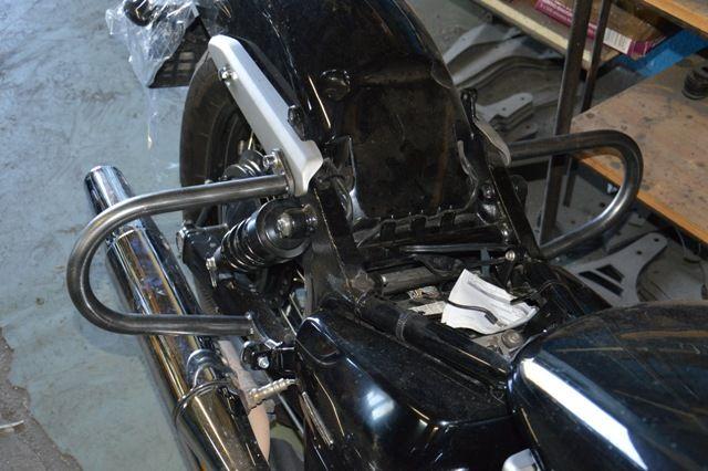 Gmole tylne HONDA Shadow VT750C2B Black Spirit