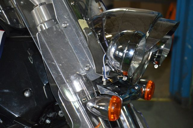 Lightbar for SUZUKI Intruder C1800 – for oryg. windshield only