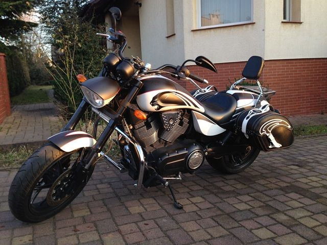 Front Engine Guards VICTORY 2008-
