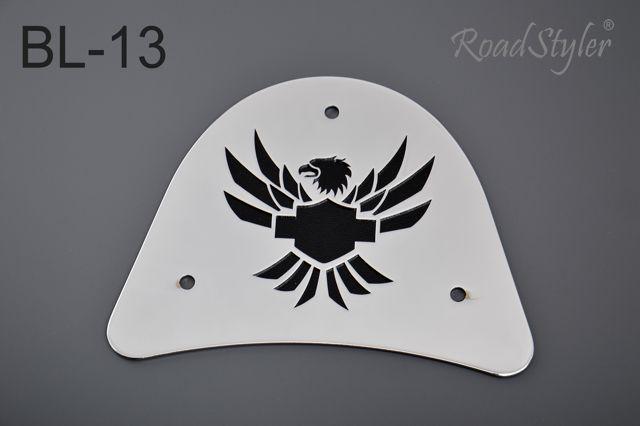 Big backrest back plate – Harley BL-13