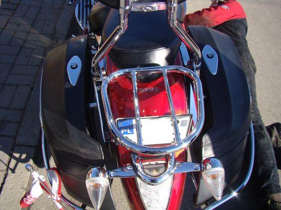 Luggage Rack for original backrest MS1900 – pipes