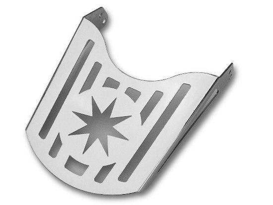Bagażnik z blachy – gwiazda (22cm)