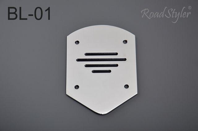 Small backrest back plate – standard BL-01