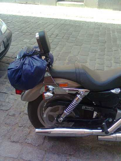 Oparcie pasażera H-D Sportster 2004-