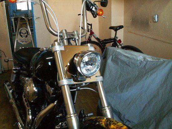 Headlamp shield – Harley Wide Glide 2010-2017