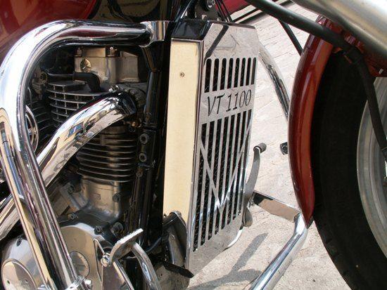 Radiator Cover for HONDA VT1100 (ver.2)